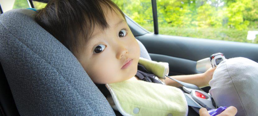 チャイルドシートは子どもの命を守ります